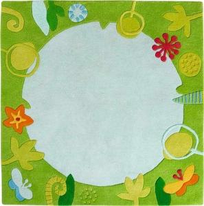 Dětský koberec Zahradní jezírko