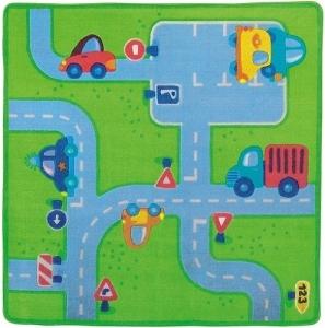 Dětský hrací koberec HABA silnice