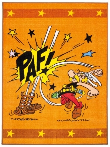 Dětský koberec Asterix a Obelix - rána pěstí - 80x150
