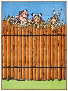 Dětský koberec Asterix a Obelix za hradbou - 80x150