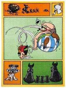 Dětský koberec Asterix a Obelix - komiks - 80x150